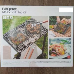 Τσάντες Πλέγματος για Μπάρμπεκιου BBQNet InnovaGoods (πακέτο με 2)