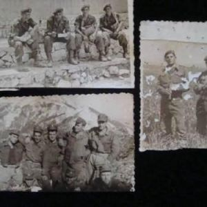 Παλαιές φωτογραφίες στρατιωτών του Ελληνικού Στρατού.