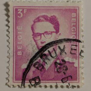 Γραμματόσημο Βελγίου (1953)