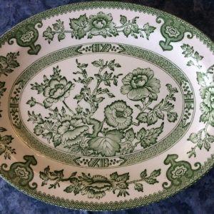 Πιατελα παλαια αγγλικη - 28 cm. Vintage Ironstone Tablewares, Indian Tree