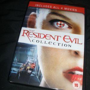 Συλογή ταινίες Resident Evil (4 ταινίες).