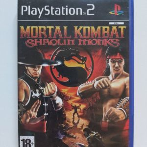 Mortal Kombat Shaolin Monks PS2 (ΕΞΑΙΡΕΤΙΚΗ ΚΑΤΑΣΤΑΣΗ)
