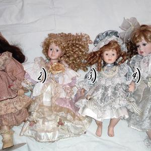 Μεγάλες πορσελάνινες κούκλες