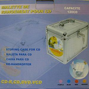 ΘΗΚΗ ALUMINIUM CD CASE BOX 120 CD