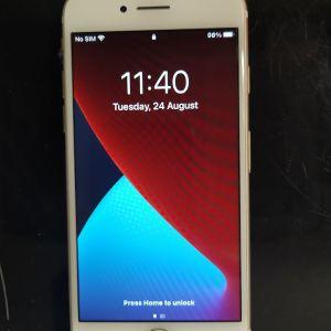 iPhone 7, 32gb, gold με εγγύηση, χωρίς κανένα σημάδι & 6 θήκες!