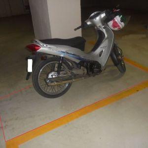 Ενοικίαση κλειστού χώρου στάθμευσης μοτοσυκλέτας 5 τ.μ.