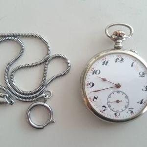 Παλιό ρολόϊ τσέπης κουρδιστο
