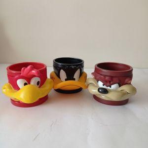 Συλλεκτικές κούπες φιγούρες Disney looney tunes