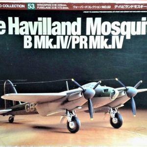 Συναρμολογούμενα Αεροπλάνα .1/72 De Havilland Mosquito B Mk.IV/PR Mk.IV - Tamiya