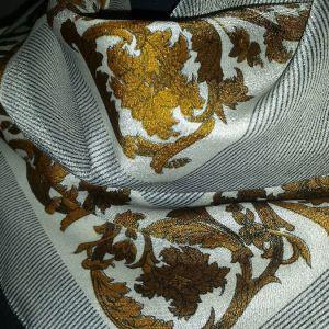 Μεταξωτό γαλλικό μαντήλι vintage 75cm