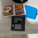 3ds + zelda ocarina of time + mario maker + θήκη μεταφοράς + 2 digital games
