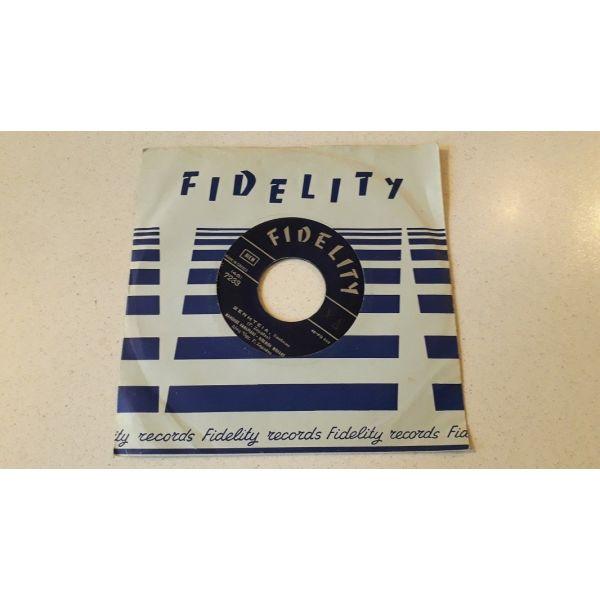 Vinyl record 45 - manolis kanaridis - mpempa mplans - thodoros kanakaris