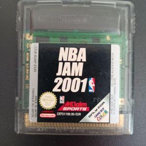 Gameboy NBA Jam 2001