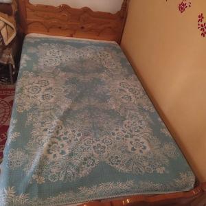 ΠΡΟΣΦΟΡΆ κρεβάτι ημιδιπλο από ξύλο σουηδικό