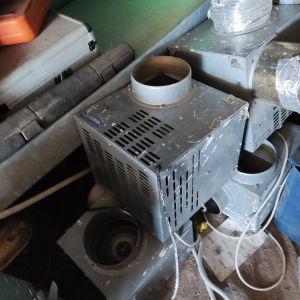 μοτέρ μεταφοράς θερμού αέρα