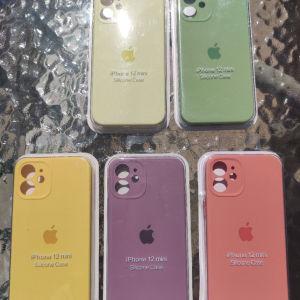 New. για Apple IPhone 12 Mini. Original OFFICIAL Apple Θήκες σιλικόνης. Ολοκαίνουργιο στη συσκευασία!