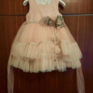 Παιδικό φορεματάκι για κοριτσάκι 2 χρονών