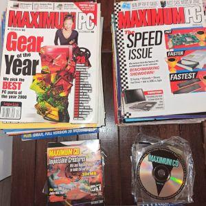 Maximum PC περιοδικά (USA) 42 τεύχη μαζί με συνοδευτικά CD