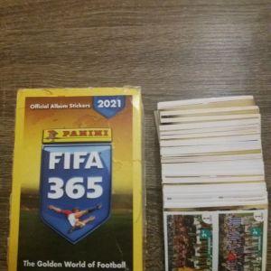 Αυτοκόλλητα Πανινι FIFA 365 του 2021