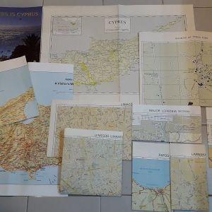 Κύπρος - Βιβλίο και χάρτες ( 10 )