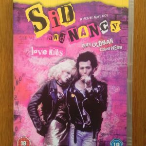 Sid and Nancy dvd