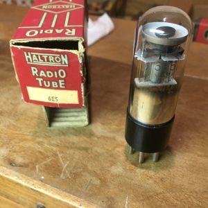 6E5 Radio tube