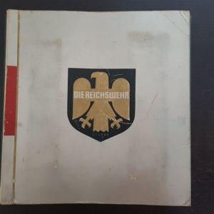 Reichswehr 1932 Συλλεκτικο Σπανιο Αλμπουμ Αυτοκολλητα Δημοκρατιας της Βαιμαρης