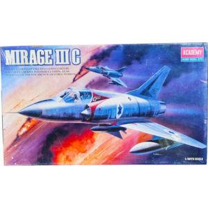 Μοντελισμός Αεροπλάνο Mirage IIIC Vintage Μοντέλο Scale 1/48