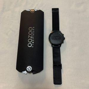 Ρολόι OOZOO Timepieces Stainless Steel Bracelet Black
