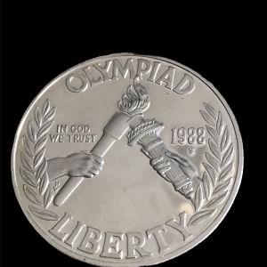 USA 1 dollar 1988
