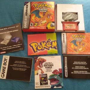 Πλήρες συλλεκτικό πακέτο Pokemon FireRed