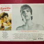 *** Ο ΑΤΑΙΡΙΑΣΤΟΣ- RUMPLE FISH. ORIGINAL αφίσες κινηματογράφου 1983 ***
