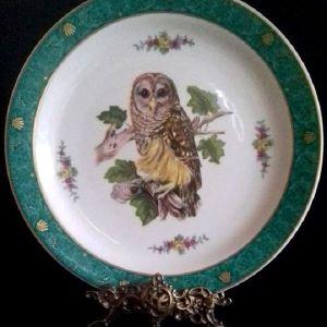 Παλαιό πορσελάνινο διακοσμητικό πιάτο τοίχου LIMOGES - FRANCE.