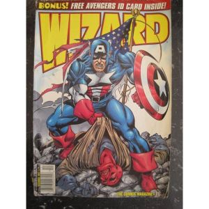 WIZARD.COMICS MAGAZINE 76 U.S.A.