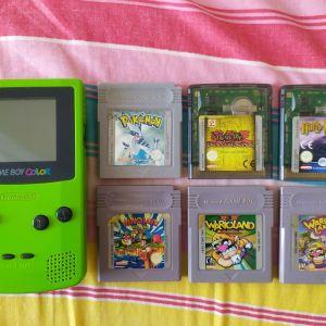 Game Boy Color + 6 κασέτες