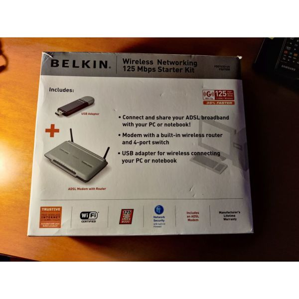 Belkin Wireless Modem Router