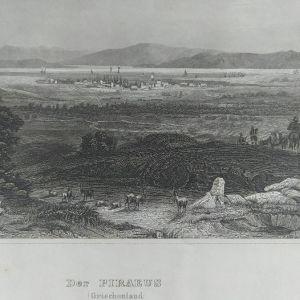 Πειραιάς    circa 1840  Γκραβούρα