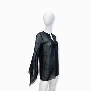 Black Cotton Top Paco Rabanne