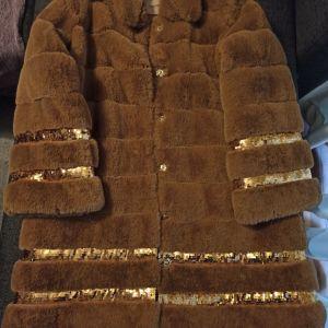 Γυναικείο γούνινο πανωφόρι Twinset