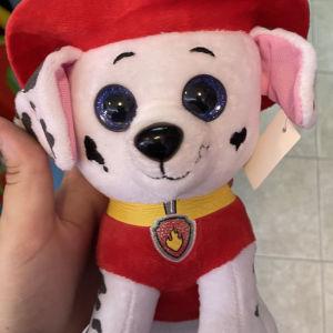 αρκουδάκι σκυλάκι πυροσβέστης
