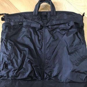 Στρατιωτική τσάντα πιλότου USA Air Force Μαύρο χρώμα Άθικτη 51cm x 42cm