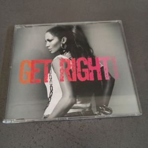 Jennifer Lopez - Get Right [CD Single]
