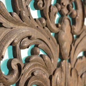 Ξύλινη πρόσοψη παλαιού εκκλησιαστικού οργάνου,  Βρετανικής προέλευσης