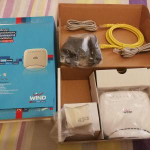 router modem καινούριο στη συσκευασία του.