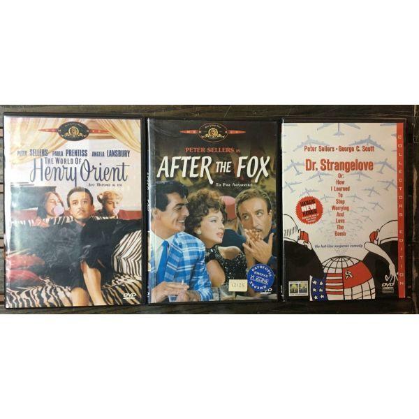 3 gnisia dvd ,    Peter Sellers   (dorean metaforika)