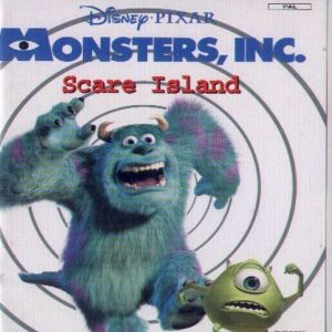 MONSTERS INC SCARE ISLAND - PS2