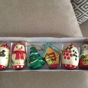 Ξυλινα Στολιδια Χριστουγεννιατικα
