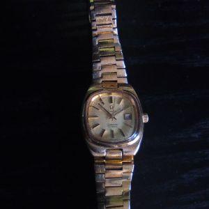 Ωμέγα γυναικείο ρολόι.