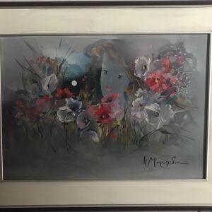 Ανάγλυφος πίνακας ζωγραφικής Φωτεινή Μουρατίδου