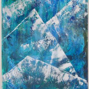 Ακρυλικός πίνακας 100 x 70 cm
